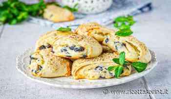 Panini sfogliati dolci con crema chantilly e more   bontà pazzesca - RicettaSprint