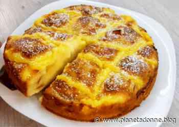 Torta di mele con crema pasticcera: il dolce goloso con solo 150 calorie! - NonSoloRiciclo