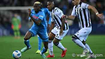 Osimhen and Koulibaly lead Napoli past Udinese