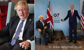 Boris Johnson dampens hope of signing US trade agreement any time soon