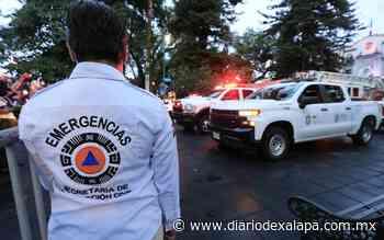 Recuerdan sismos de 1985 y 2017 en Xalapa - Diario de Xalapa