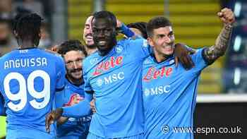 Napoli continue perfect start to top Serie A