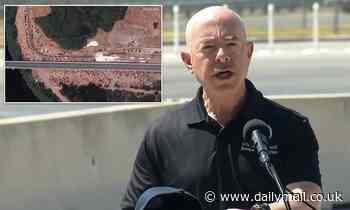 DHS Sec. Alejandro Mayorkas visits Del Rio to tell 15,000 migrants NOT to enter US