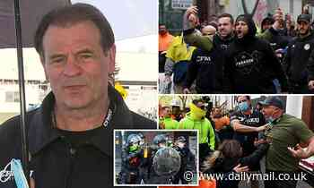 CFMEU boss slams 'fake tradies' at  Melbourne protest which shut down construction industry