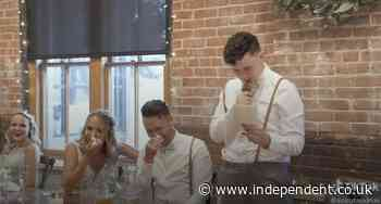 Groom's autistic brother goes viral for touching best man's speech