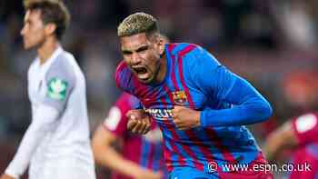 Araujo salvages point for Barca with 9/10 performance