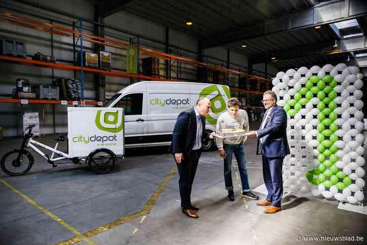 """Cargo Velo en CityDepot blazen één kaarsje uit: """"Zo veel mogelijk leveringen met de fiets"""""""