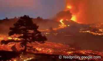 La Palma volcano eruption: Thousands evacuated as homes destroyed - 'toxic gas' fears