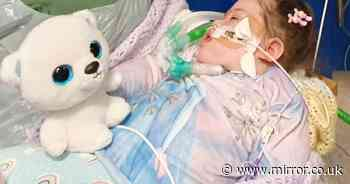 Parents' emotional plea for brain-damaged daughter to spend last days at home