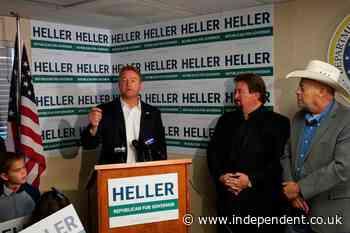 Republican Dean Heller announces run for governor of Nevada
