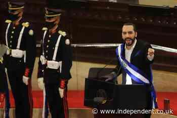 El Salvador president changes Twitter profile to 'dictator'
