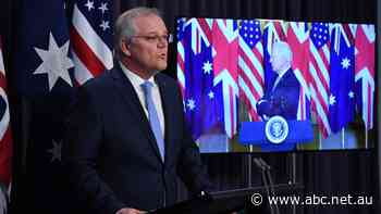Scott Morrison meeting with world leaders at United Nations after controversial submarine deal