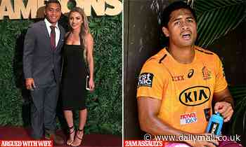 NRL star Anthony Milford did NOT assault partner but contract is in peril over alleged violence