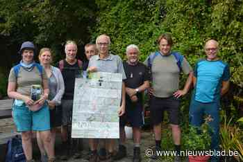 Wandelen langs trage wegen rond de Molenbeek