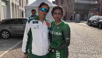 Despite career-best performance, Kanza Malik, Asma Jan finish last in cycling championship - Geo News