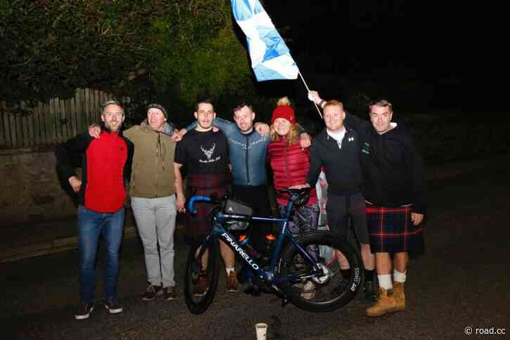 Josh Quigley breaks seven-day cycling distance world record by two miles; Danish rider dedicates win to Chris Anker Sørensen; Councillor warned of door zone cycle lane; TT reaction; New LTN; Jennifer Aniston's bike messenger past + more on the live