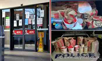Gang members smuggled $100 worth of KFC into locked-down Auckland as city battles COVID outbreak