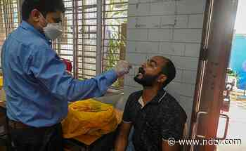 26,115 Fresh COVID-19 Cases In India, 13.6% Lower Than Yesterday - NDTV