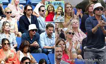 Savannah Guthrie dishes about sitting next to Brad Pitt and Bradley Cooper and at US Open - Daily Mail