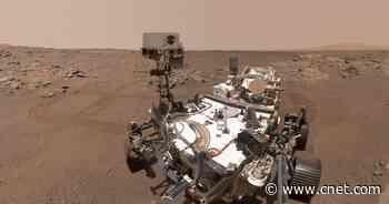 NASA Perseverance rover snaps selfies at historic Mars sample site     - CNET