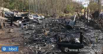 Dos muertos deja incendio en Villarrica: fueron encontrados por Bomberos - BioBioChile