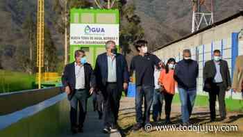 Agua Potable inauguró obras para abastecer a San Salvador - todojujuy.com