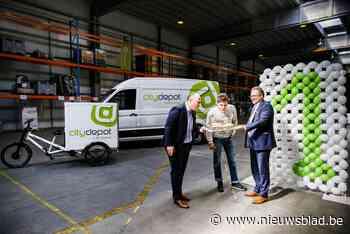 """Cargo Velo en CityDepot blazen één kaarsje uit: """"Zo veel mogelijk leveringen met de fiets"""" - Het Nieuwsblad"""