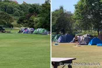 'Tent city' in Brighton park set to be evicted