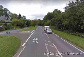 Walkers killed in Herefordshire A44 motorcycle crash named