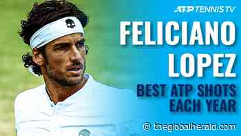Feliciano Lopez   Best ATP Shot Every Year (2003-2021) - The Global Herald - The Global Herald