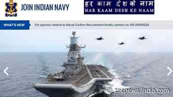 Indian Navy SSC Recruitment 2021: Applications begin, check out salary, other details at joinindiannavy.gov.in