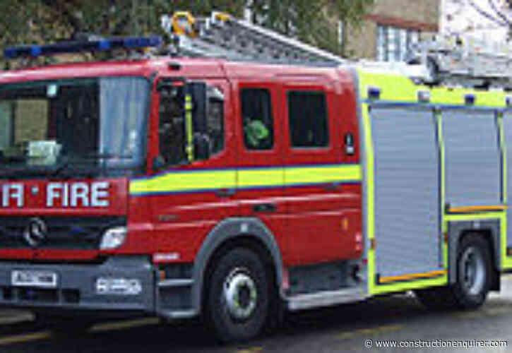 Ten fire crews tackle blaze at Hinkley