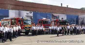 Für langjährige Verdienste: Ehrungen und Beförderungen bei der Feuerwehr in Mettlach - Saarbrücker Zeitung