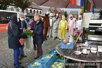 Boerenmarkt op het Cardijnplein