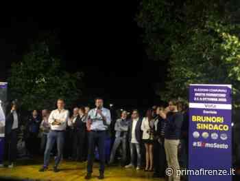 """Salvini a Sesto lancia Brunori Sindaco: """"possiamo vincere come a Sesto San Giovanni"""" - Prima Firenze"""