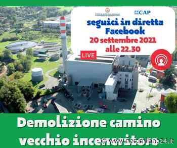 Sesto San Giovanni, stasera la demolizione del camino del termovalorizzatore - Nord Milano 24