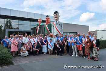 Traditionele installatie van de Orde van Sint-Maarten