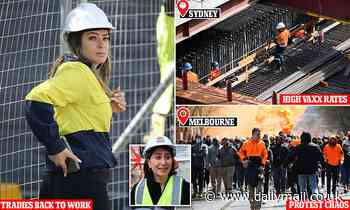 Coronavirus Australia: While Melbourne riots, Sydney tradies get green light to return to work - Daily Mail
