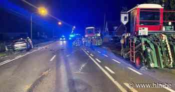 Twee gewonden na fout afgelopen inhaalmanoeuvre landbouwvoertuigen in Pittem - Het Laatste Nieuws