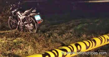 Matan a pandillero que se conducía en su motocicleta en Izalco, Sonsonate - Solo Noticias