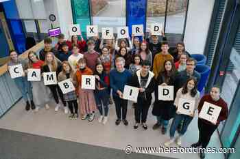 Hereford college is one of country's best for Oxbridge success