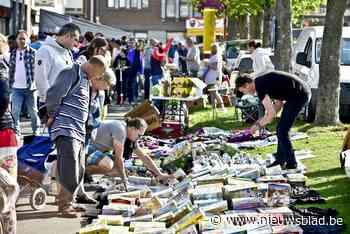 Eindelijk weer rommelmarkt op Krottegem met 6 kilometer stalletjes