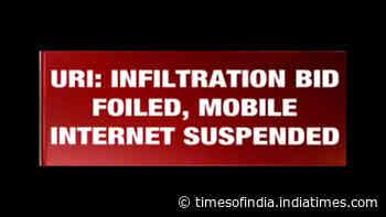 Search operation is still underway in Uri: PRO Defence, Srinagar