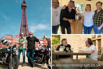 The Hairy Bikers Go North: Si and Dave visit Lancashire for BBC show