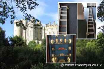 Arundel Castle burglary: Police make arrest