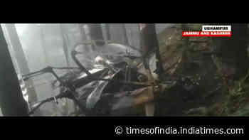 Jammu: Helicopter force-lands near Patnitop area in Udhampur; both pilots injured