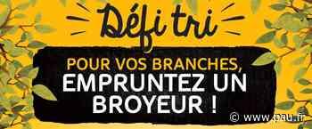 Réunion broyeur pour valoriser vos déchets de jardin à Lescar - Pau.fr