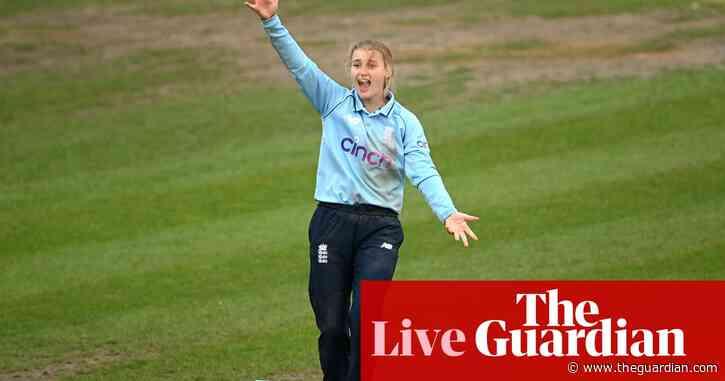 England v New Zealand: third women's ODI – live!