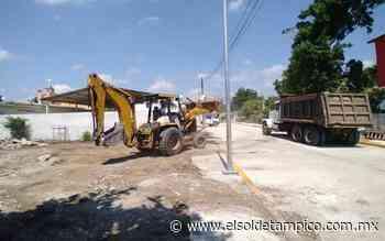En Esteros, inicia construcción de Banco de Bienestar - El Sol de Tampico