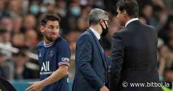 Messi y una imagen brutal en el banco: la cara de indignado con Pochettino - Bitbol